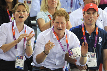 Carole Coe Olympics - Day 11 - Royals at the Olympics