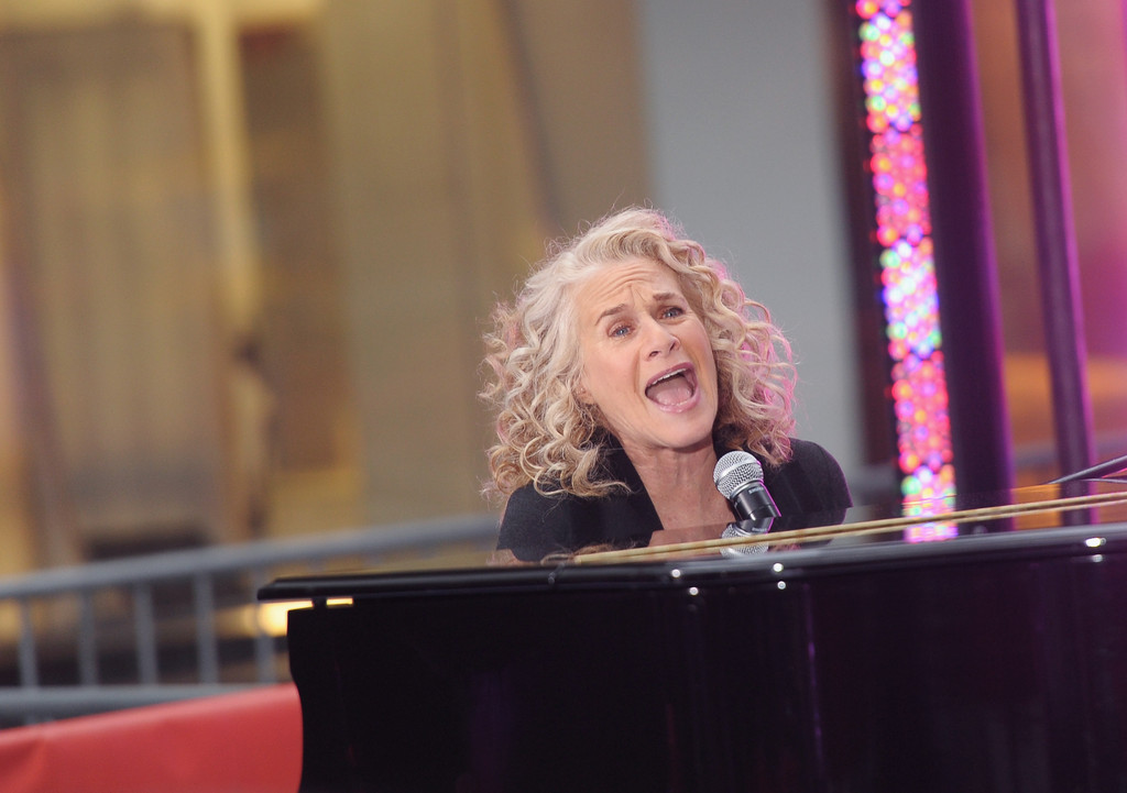 carole king photos photos carole king performs on nbcs