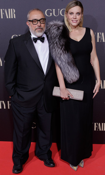 'Vanity Fair Personality Of The Year' Gala In Madrid [red carpet,carpet,clothing,suit,dress,formal wear,premiere,tuxedo,event,flooring,vanity fair personality of the year,personality of the year,personaje del ano awards,madrid,royal theatre,spain,alex de la iglesia,carolina bang]