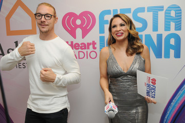 Carolina Bermudez iHeartRadio Fiesta Latina - Backstage