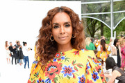 Janet Mock attends the front row of Carolina Herrera fashion show during New York Fashion Weekon September 09, 2019 in New York City.
