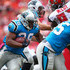 Jonathan Stewart Photos - Jonathan Stewart #28 of the Carolina Panthers carries the ball during the second quarter of the game against the Tampa Bay Buccaneers at Raymond James Stadium on October 4, 2015 in Tampa, Florida. - Carolina Panthers v Tampa Bay Buccaneers
