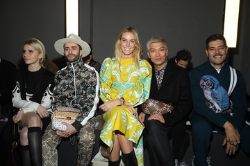 Caroline Daur Valentino: Front Row - Paris Fashion Week - Menswear F/W 2019-2020