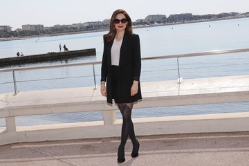 Caroline Dhavernas 'Mary Kills People' Photocall At La Rotonde -  MIP TV 2017 In Cannes