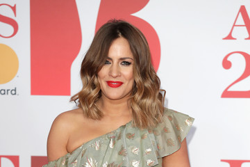 Caroline Flack The BRIT Awards 2018 - Red Carpet Arrivals