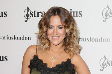 Caroline Flack Stradivarius: The Event Paper Launch - Arrivals - London