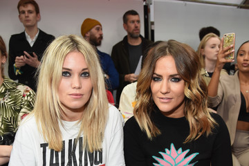 Caroline Flack Front Row & Arrivals - Day 2 - LFW September 2016