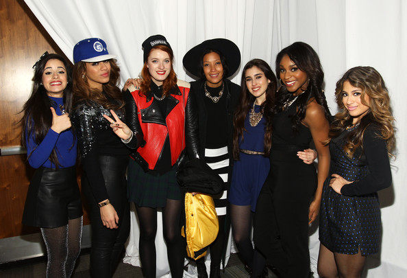 Backstage at 106.1 KISS FM's Jingle Ball