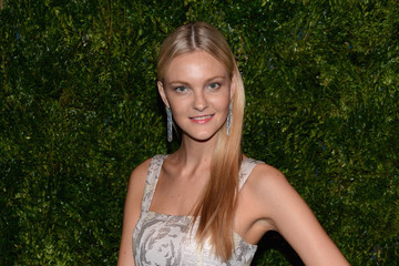 Caroline Trentini The Ninth Annual CFDA/Vogue Fashion Fund Awards - Inside Arrivals