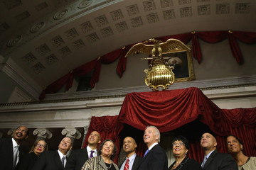 Carolyn Booker Cory Booker Sworn in as US Senator