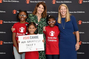Carolyn Miles Save The Children Celebrates International Day Of The Girl In Los Angeles