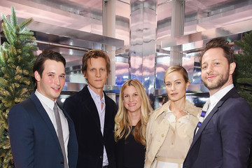 "Carolyn Murphy Naomi Campbell And Matt Smith Celebrate ""Close Your Eyes And Think Of Christmas"" In New York"