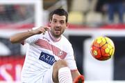 Andrea Lazzari of Carpi FC in action during the Serie A match between Carpi FC and Hellas Verona FC at Alberto Braglia Stadium on November 1, 2015 in Modena, Italy.