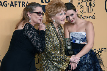 Carrie Fisher Billie Lourd 21st Annual Screen Actors Guild Awards - Press Room