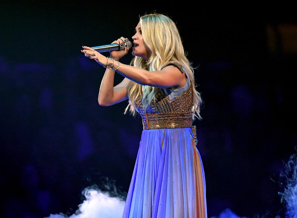 Carrie Underwood With Maddie And Tae And Runway June In Concert - Los Angeles, CA