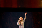 Carrie Underwood performs during Carrie Underwood With Maddie & Tae And Runway June In Concert  at Madison Square Garden on October 02, 2019 in New York City.