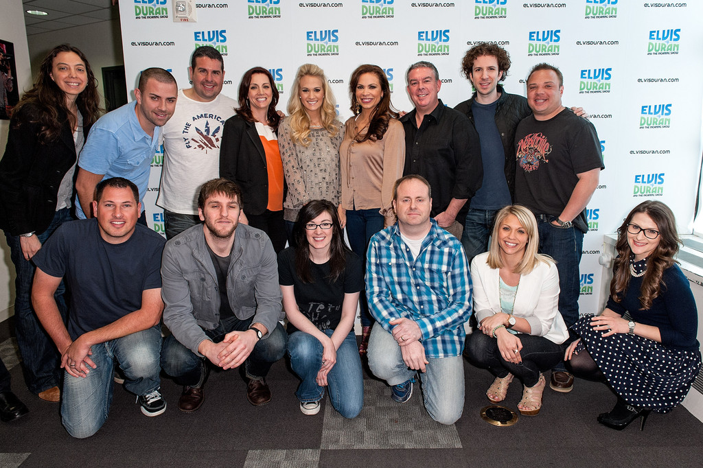 Visits The Elvis Duran Z100 Morning Show At Z100 Studio In New York ...