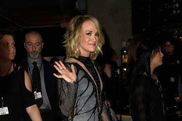 Carrie Underwood The 59th GRAMMY Awards -  Backstage