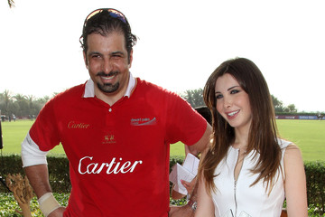 Nancy Ajram Cartier International Dubai Polo Challenge