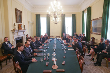 Carwyn Jones Theresa May Hosts The Joint Ministerial Committee Meeting