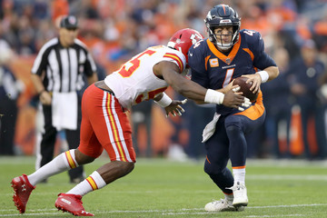 Case Keenum Kansas City Chiefs v Denver Broncos