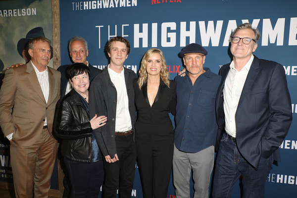 Netflix's 'The Highwaymen' After Party [the highwaymen,event,premiere,white-collar worker,team,casey silver,john lee hancock,kevin costner,thomas mann,kim dickens,l-r,netflix,party,premiere]