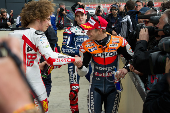 Casey Stoner Photos Photos - MotoGp Of Great Britain: Qualifying - Zimbio