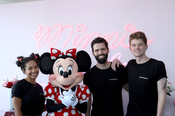 Cash Lawless Minnie Mouse 90th Anniversary Celebration