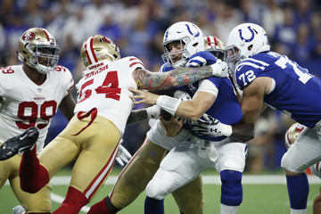 Cassius Marsh San Francisco 49ers v Indianapolis Colts