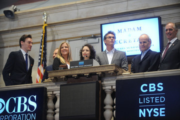 Sam Hoffman 'Madame Secretary' Cast at the NYSE