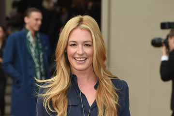 Cat Deeley Arrivals at Burberry Womenswear