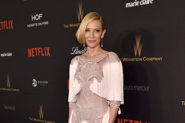 Cate Blanchett The Weinstein Company and Netflix Golden Globe Party - Red Carpet