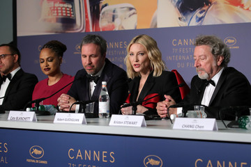 Cate Blanchett Ava DuVernay Jury Press Conference - The 71st Annual Cannes Film Festival