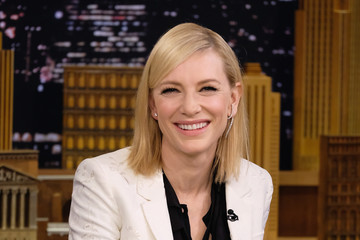 Cate Blanchett Cate Blanchett Visits 'The Tonight Show Starring Jimmy Fallon'