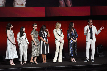 Cate Blanchett Sandra Bullock CinemaCon 2018 - Warner Bros. Pictures Invites You To 'The Big Picture', an Exclusive Presentation Of Our Upcoming Slate