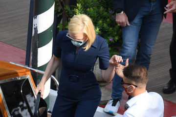 Cate Blanchett Celebrity Excelsior Arrivals During The 77th Venice Film Festival - Day 9