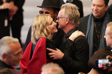 Cate Blanchett Sting Performs To Close The 71st Annual Cannes Film Festival