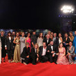 Caterina Guzzanti Filming In Italy Red Carpet Arrivals - The 76th Venice Film Festival