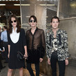 Catherine McNeil Celebrities Arrive at Givenchy During Paris Fashion Week