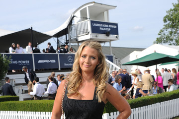 Catherine McQueen Celebrities Attend the Laureus Polo Cup