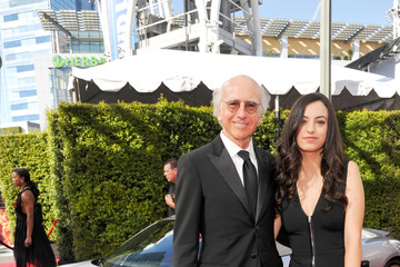 Cazzie David Celebs Attend the Audi Event at the 68th Emmy Awards