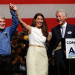 Cecil Roberts Bill Clinton Campaigns with Alison Lundergan Grimes