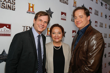 Cecilia Abbott HISTORY Celebrates Epic New Miniseries 'Texas Rising' With Red Carpet at the Alamo