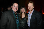 """Pixar and WDAS CCO John Lasseter, Nina Ratzenberger and Actor Kevin McKidd attends a celebration of the Oscar nominated films """"Brave"""" and """"Wreck it Ralph"""" at The Edison on February 23, 2013 in Los Angeles, California."""