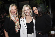 Amy Smart, Shannon de Laat and Emmanuelle Chriqui attend a celebration of impact and creativity at Ardor at The West Hollywood EDITION on November 19, 2019 in West Hollywood, California.