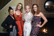 Liza Koshy, Missi Pyle, Maddie Hasson and Carly Craig attend a Celebration of YouTube Originals at Chateau Marmont on November 13, 2018 in Los Angeles, California.
