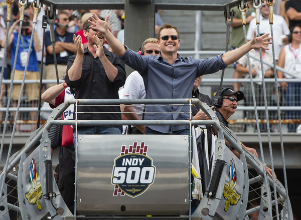 Celebrities Arrive For The 2019 Indianapolis 500