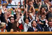 Billie Jean King and Prince William Photos Photo