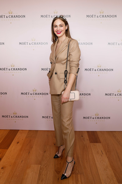 Celebrities Attend Moet And Chandon Spring Champion Stakes Day