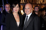 Luisa Ranieri and Luca Zingaretti attend cocktail party hosted by the Lancia Cafe during the 6th Rome Film Festival on November 2, 2011 in Rome, Italy.